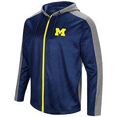 Men's Campus Heritage Michigan Wolverines Sleet Full-Zip Hoodie