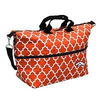 Logo Brand Denver Broncos Quatrefoil Expandable Tote