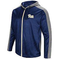 Men's Campus Heritage Pitt Panthers Sleet Full-Zip Hoodie