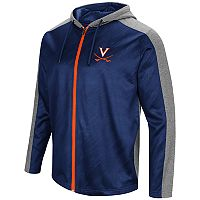 Men's Campus Heritage Virginia Cavaliers Sleet Full-Zip Hoodie
