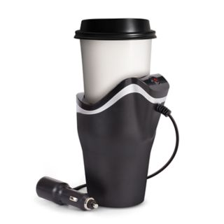 Smart Gear Beverage Warmer with Built-In USB Power Port