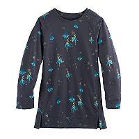 Girls 4-12 SONOMA Goods for Life™ Long-Sleeve Raglan Tunic