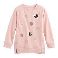 Girls 4-12 SONOMA Goods for Life™ Long-Sleeve Raglan Tunic