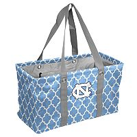 Logo Brand North Carolina Tar Heels Quatrefoil Picnic Caddy Tote