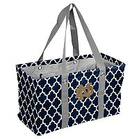 Logo Brand Notre Dame Fighting Irish Quatrefoil Picnic Caddy Tote