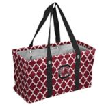 Logo Brand South Carolina Gamecocks Quatrefoil Picnic Caddy Tote