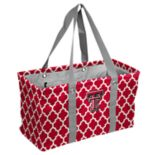 Logo Brand Texas Tech Red Raiders Quatrefoil Picnic Caddy Tote