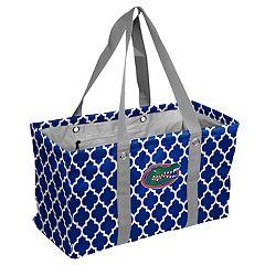 Logo Brand Florida Gators Quatrefoil Picnic Caddy Tote