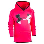 Girls 4-6X Under Armour Big Logo Hoodie