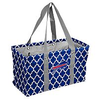 Logo Brand Buffalo Bills Quatrefoil Picnic Caddy Tote