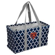 Logo Brand Chicago Bears Quatrefoil Picnic Caddy Tote
