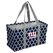 Logo Brand New York Giants Quatrefoil Picnic Caddy Tote