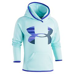 Girls 4-6x Under Armour Blurred Big Logo Hoodie
