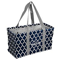 Logo Brand Seattle Seahawks Quatrefoil Picnic Caddy Tote