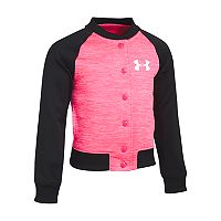 Girls 4-6x Under Armour Elevated Bomber Raglan Jacket