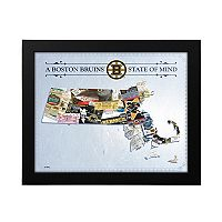 Boston Bruins State of Mind Framed Wall Art
