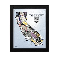 Los Angeles Kings State of Mind Framed Wall Art