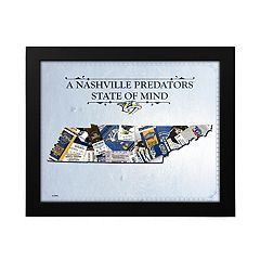 Nashville Predators State of Mind Framed Wall Art
