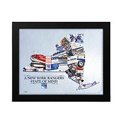 New York Rangers State of Mind Framed Wall Art
