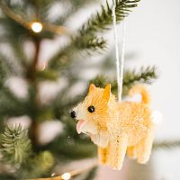 LC Lauren Conrad Dog Christmas Ornament