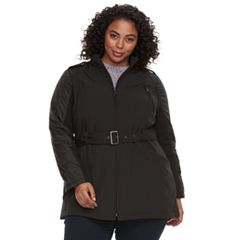 Plus Size MO-KA Quilted Soft Shell Jacket