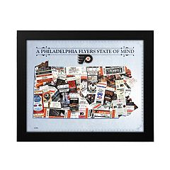 Philadelphia Flyers State of Mind Framed Wall Art