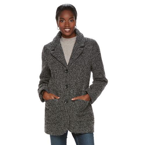 Women's MO-KA Faux-Wool Coat