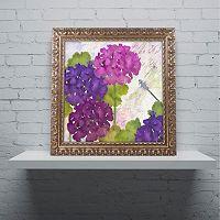 Trademark Fine Art Gaia II Ornate Framed Wall Art