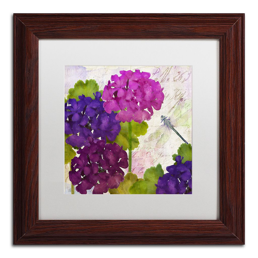 Trademark Fine Art Gaia II Framed Wall Art