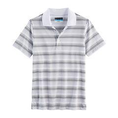 Boys 8-20 PGA Tour Airflux Striped Golf Polo