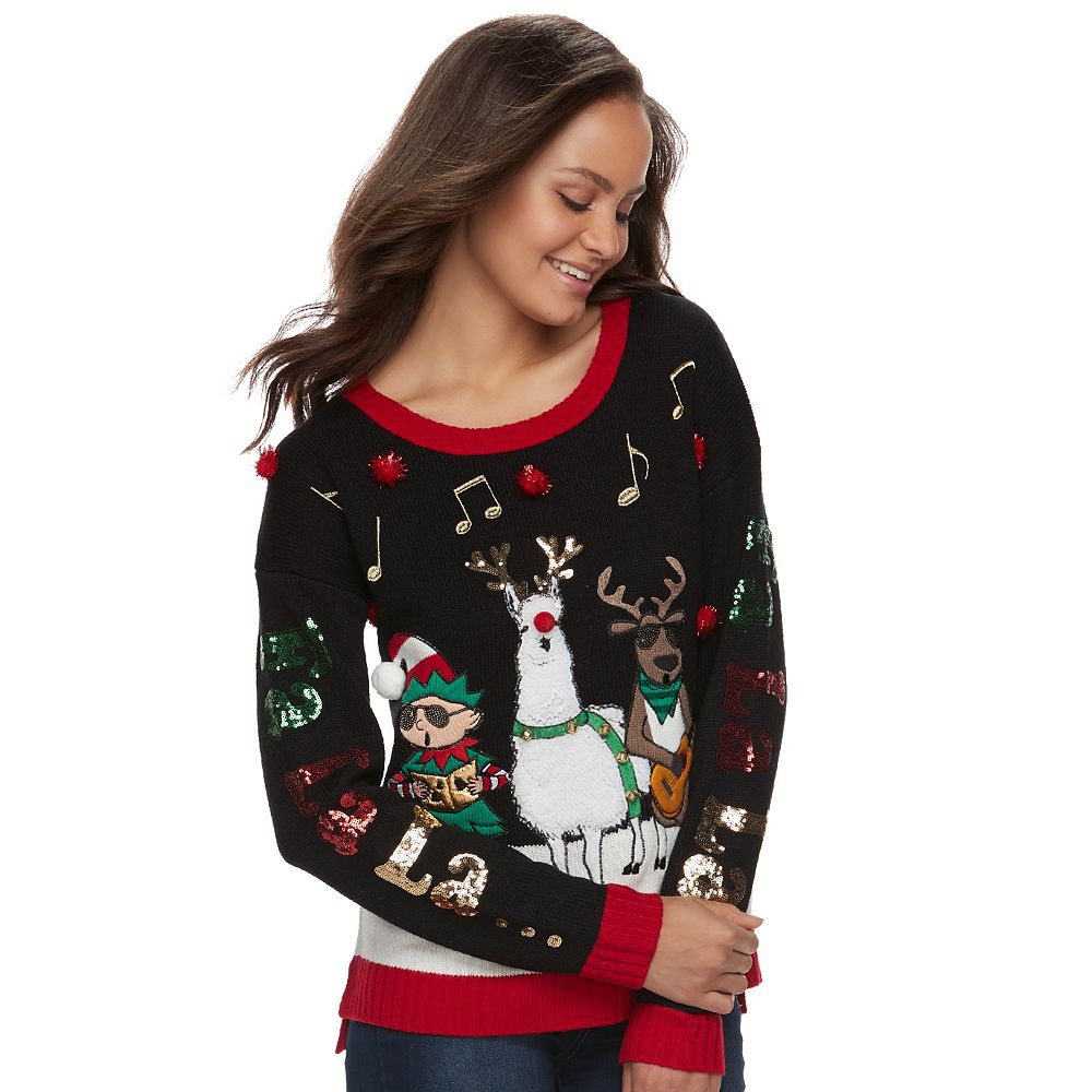 Ugly Time Sweater La Fa It\'s Juniors\' Christmas Our wqcXazcgnP