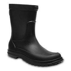 Crocs Allcast Men's Waterproof Rain Boots