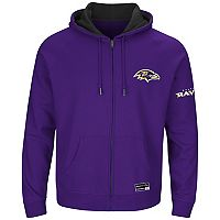 Big & Tall Majestic Baltimore Ravens Anchor Point Hoodie