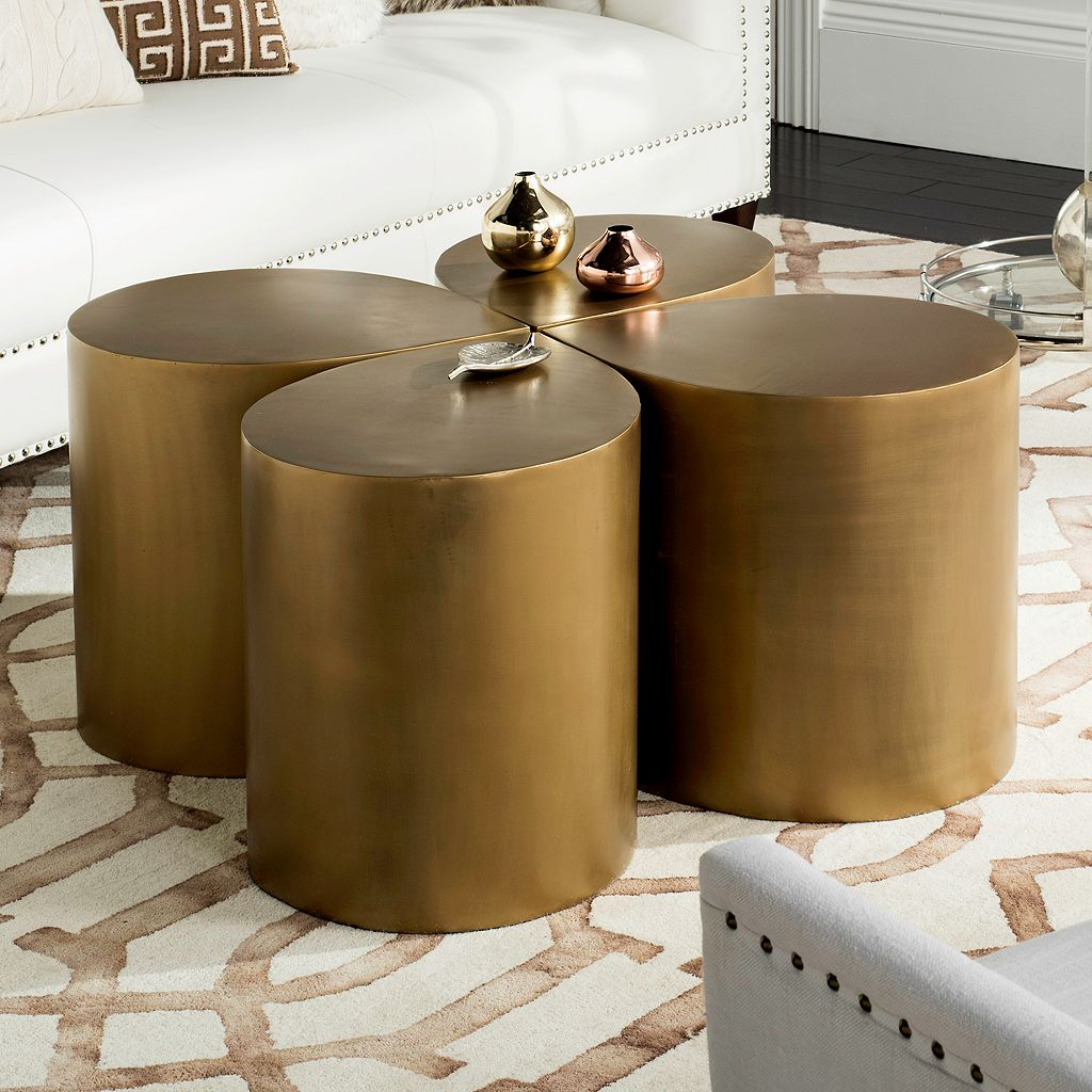 Safavieh Tilly Coffee Table & End Table 4-piece Set