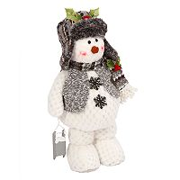 Gerson Plush Snowman Decor