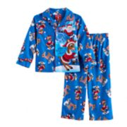 "Toddler Boy Rudolph the Red Nosed Reindeer ""Santa's Little Helper"" Pajama Set"