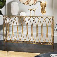 Safavieh Carina Gold Finish Console Table