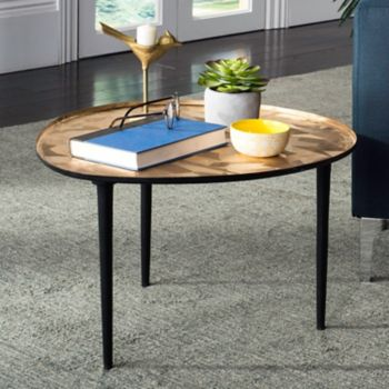 Safavieh Hera Oval Tray Top End Table
