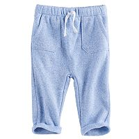 Baby Boy Jumping Beans® Cuffed Fleece Pants