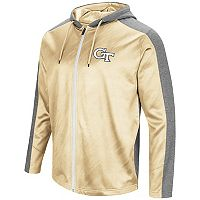 Men's Campus Heritage Georgia Tech Yellow Jackets Sleet Full-Zip Hoodie