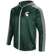 Men's Campus Heritage Michigan State Spartans Sleet Full-Zip Hoodie