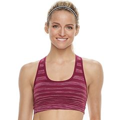 Tek Gear® Seamless Racerback Low-Impact Sports Bra