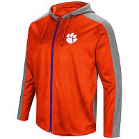 Men's Campus Heritage Clemson Tigers Sleet Full-Zip Hoodie