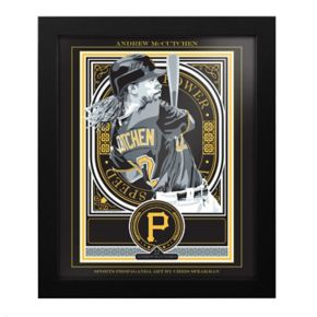 Pittsburgh Pirates Andrew McCutchen Framed Wall Art