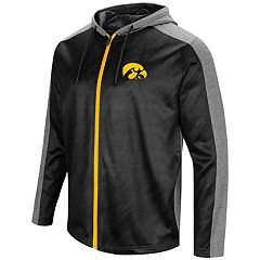 Men's Campus Heritage Iowa Hawkeyes Sleet Full-Zip Hoodie