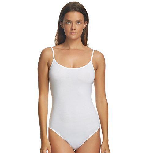 Jezebel Spaghetti Strap Tank Top Bodysuit 900274