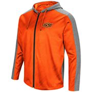 Men's Campus Heritage Oklahoma State Cowboys Sleet Full-Zip Hoodie