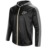 Men's Campus Heritage Purdue Boilermakers Sleet Full-Zip Hoodie
