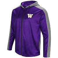 Men's Campus Heritage Washington Huskies Sleet Full-Zip Hoodie