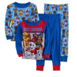 Toddler Boy Paw Patrol Rubble, Chase, Marshall & Skye 4-pc. Pajama Set